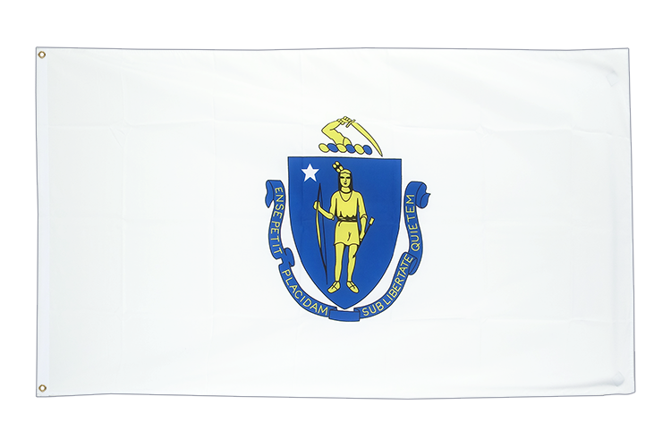 Massachusetts - 3x5 ft Flag