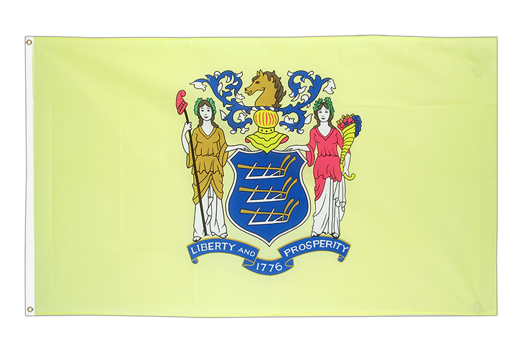 New Jersey Flagge - 90 x 150 cm