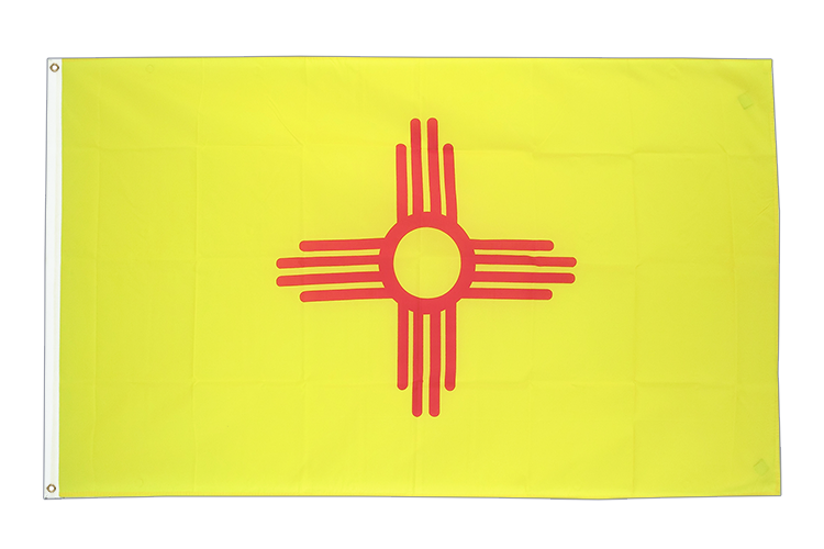 New Mexico - Flagge 90 x 150 cm