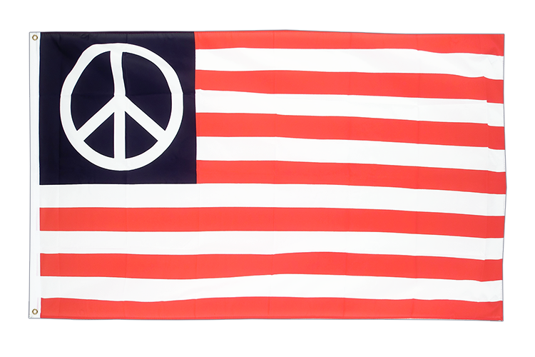 USA PEACE - 3x5 ft Flag