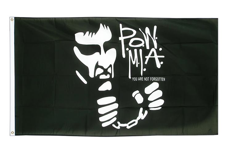 USA Pow Mia Not Forgotten - 3x5 ft Flag