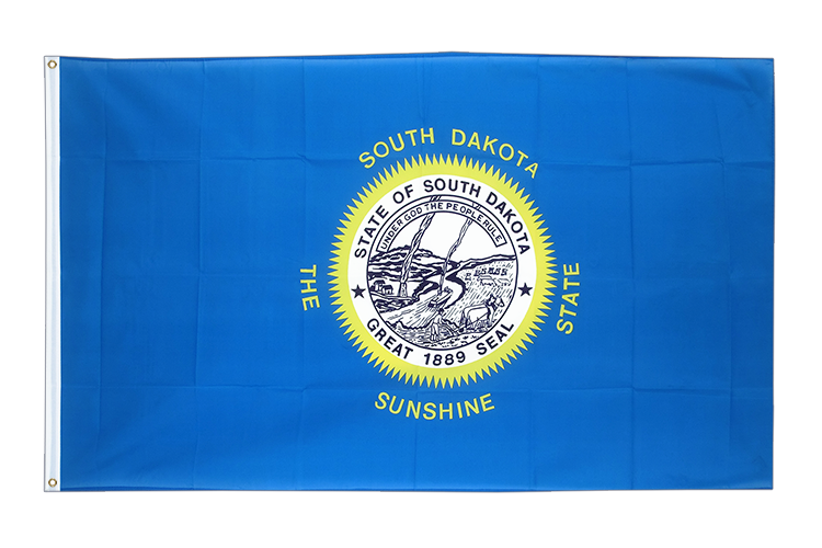 Drapeau Dakota du Sud (South Dakota) -
