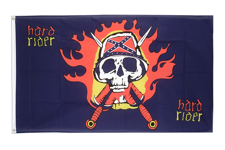 USA Southern United States Hard Rider - 3x5 ft Flag