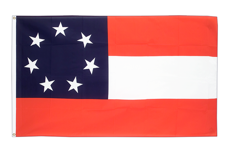 3x5 USA Southern United States Stars and Bars 1861 Flag