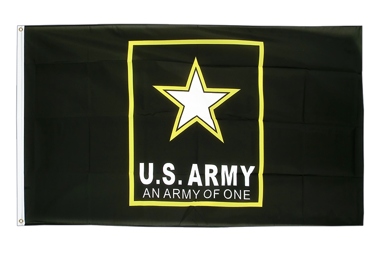 US Army logo - 3x5 ft Flag