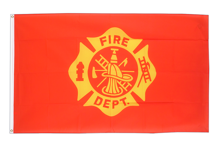 3x5 US Fire Department Flag