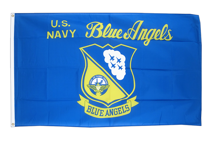 USA US Navy Blue Angels Flagge - 90 x 150 cm
