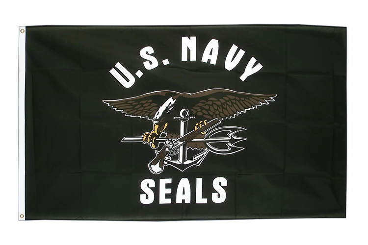 USA US Navy Seals - Flagge 90 x 150 cm kaufen