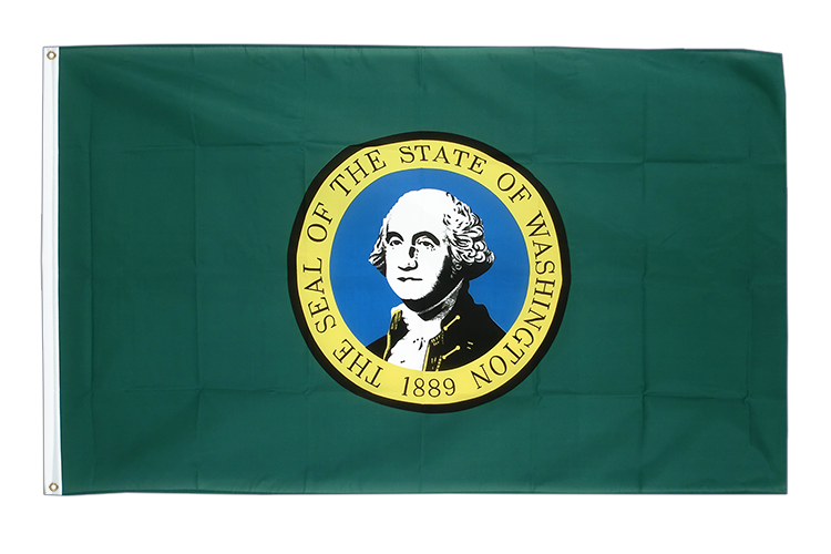 Washington - Flagge 90 x 150 cm
