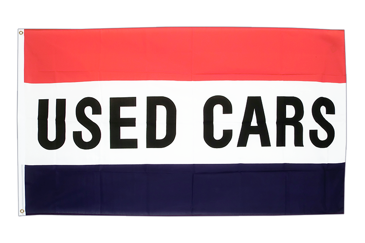 Used cars - 3x5 ft Flag