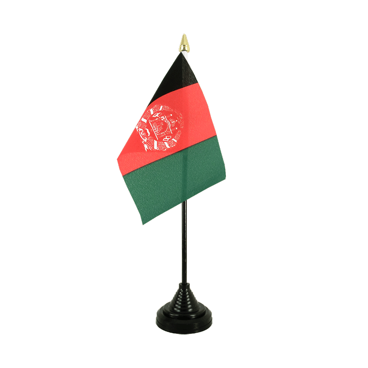 "Desk and Table Flag Afghanistan - 4x6"" (10 x 15 cm)"