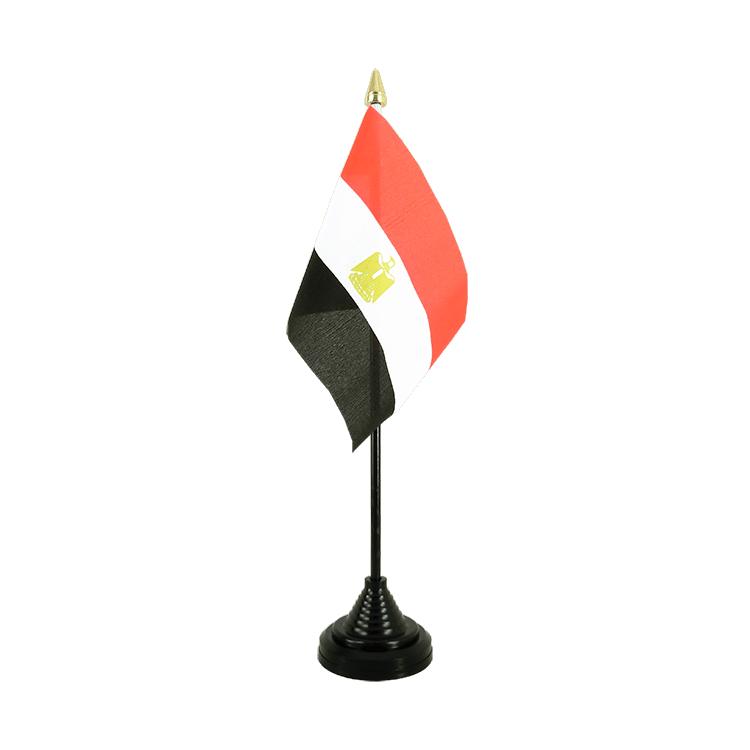 "Desk and Table Flag Egypt - 4x6"" (10 x 15 cm)"