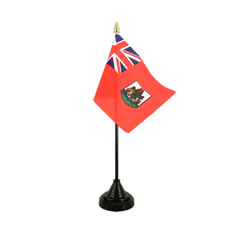 "Table Flag Bermuda - 4x6"" (10 x 15 cm)"