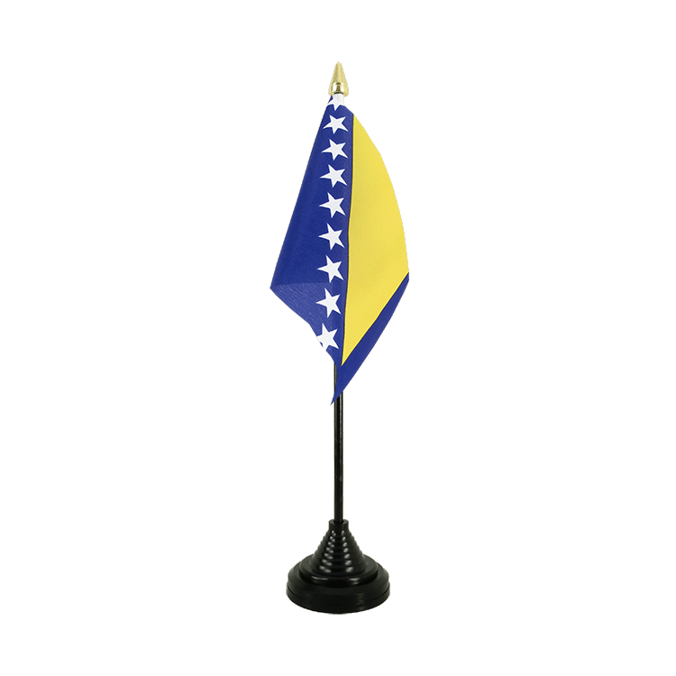 "Desk and Table Flag Bosnia-Herzegovina - 4x6"" (10 x 15 cm)"