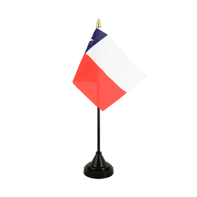 "Table Flag Chile - 4x6"" (10 x 15 cm)"
