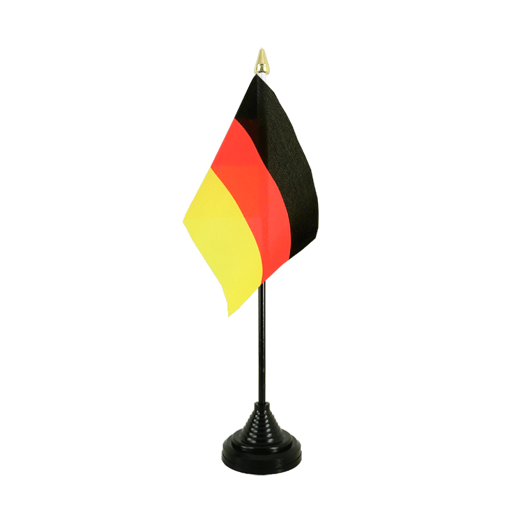 "Desk and Table Flag Germany - 4x6"" (10 x 15 cm)"