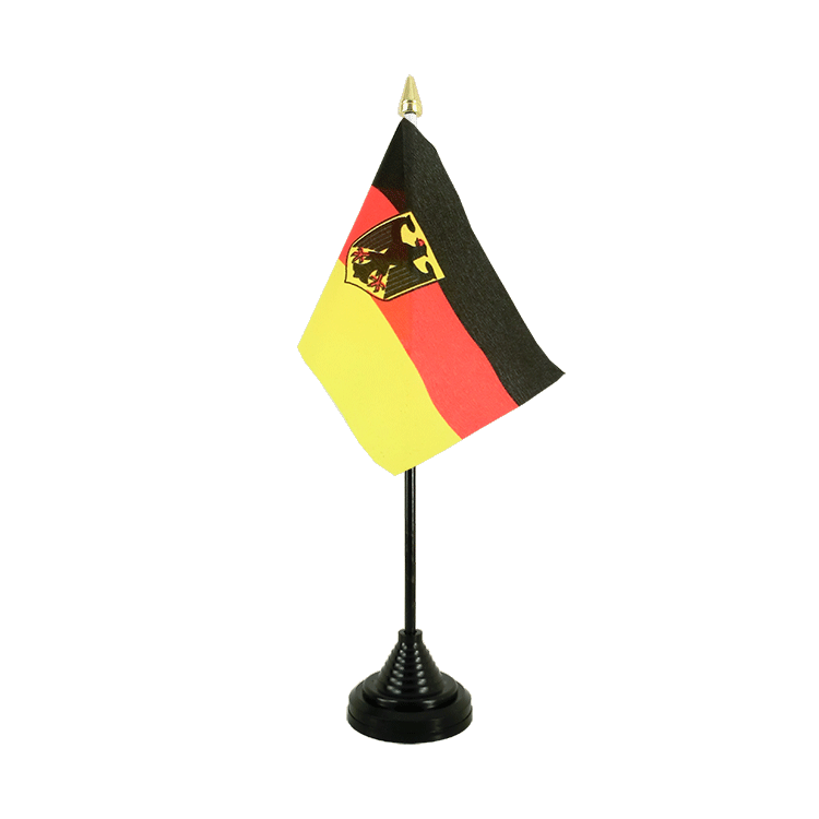 "Table Flag Germany Dienstflagge - 4x6"" (10 x 15 cm)"