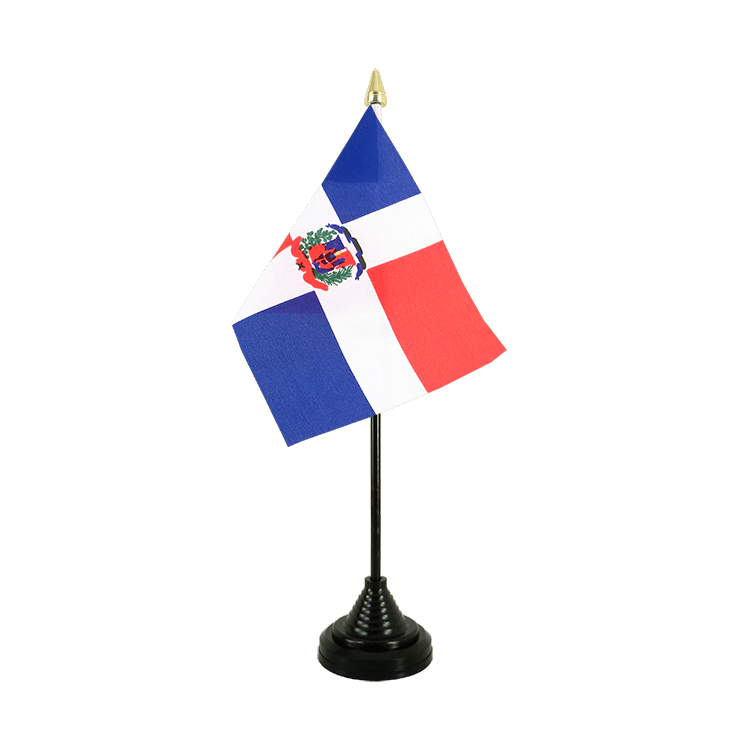 "Table Flag Dominican Republic - 4x6"" (10 x 15 cm)"