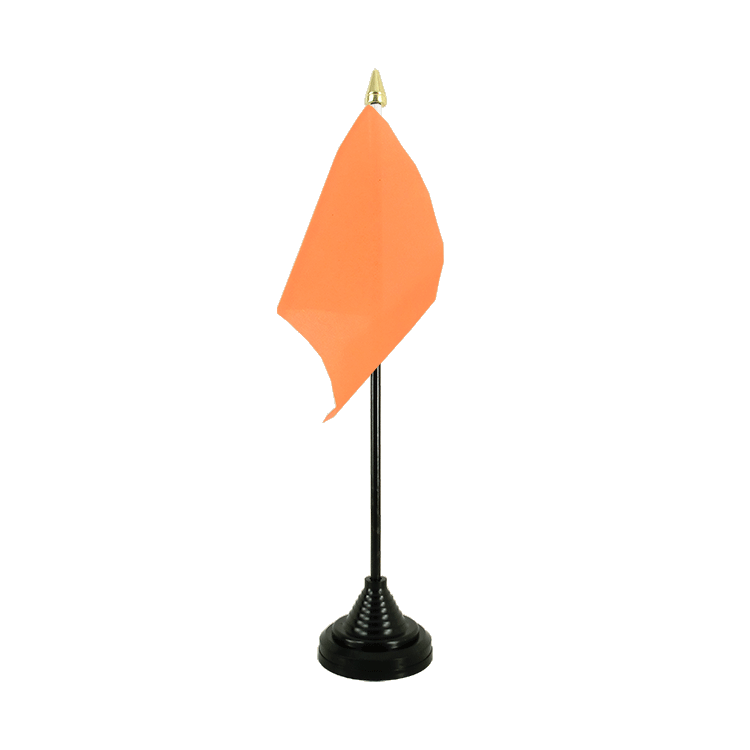 "Table Flag orange - 4x6"" (10 x 15 cm)"