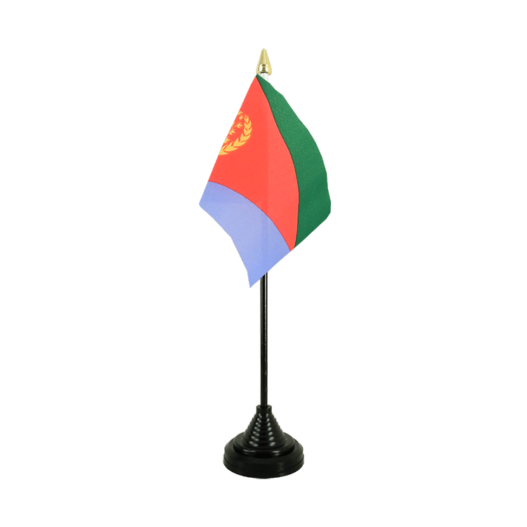 "Table Flag Eritrea - 4x6"" (10 x 15 cm)"