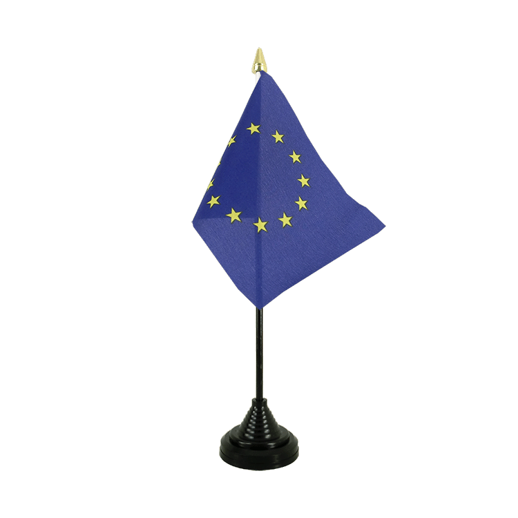 "Table Flag European Union EU - 4x6"" (10 x 15 cm)"