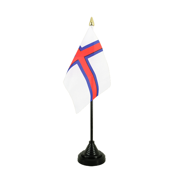 "Table Flag Faroe Islands - 4x6"" (10 x 15 cm)"