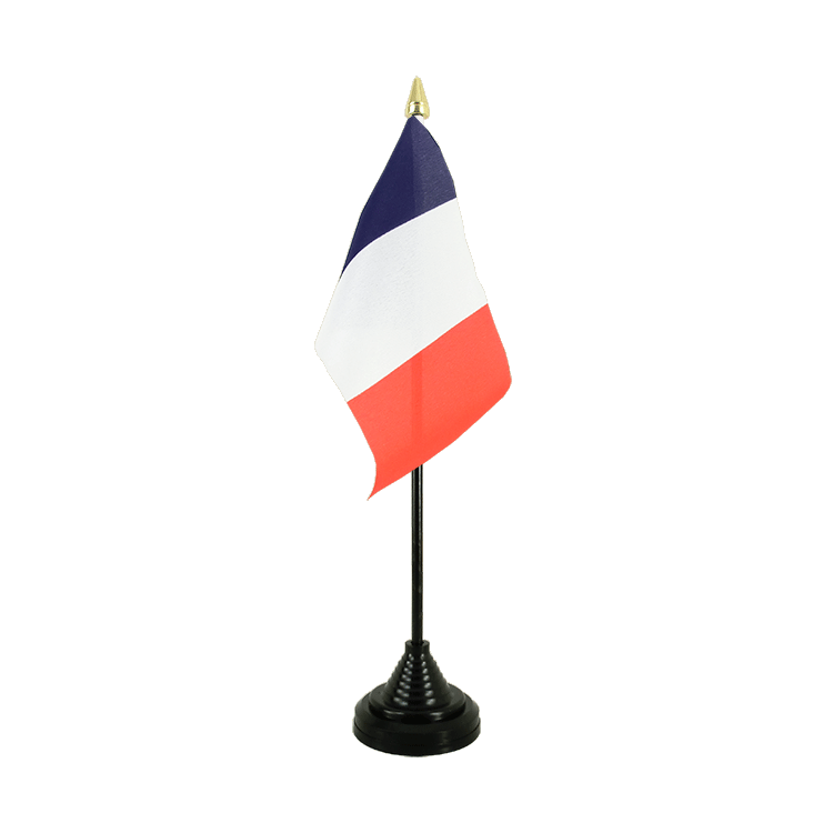 "Table Flag France - 4x6"" (10 x 15 cm)"