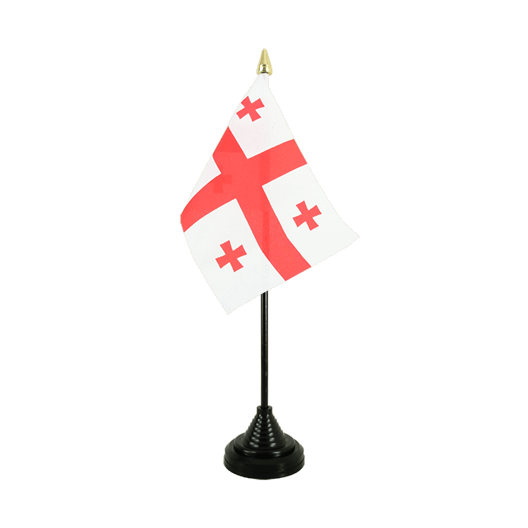 "Table Flag Georgia - 4x6"" (10 x 15 cm)"