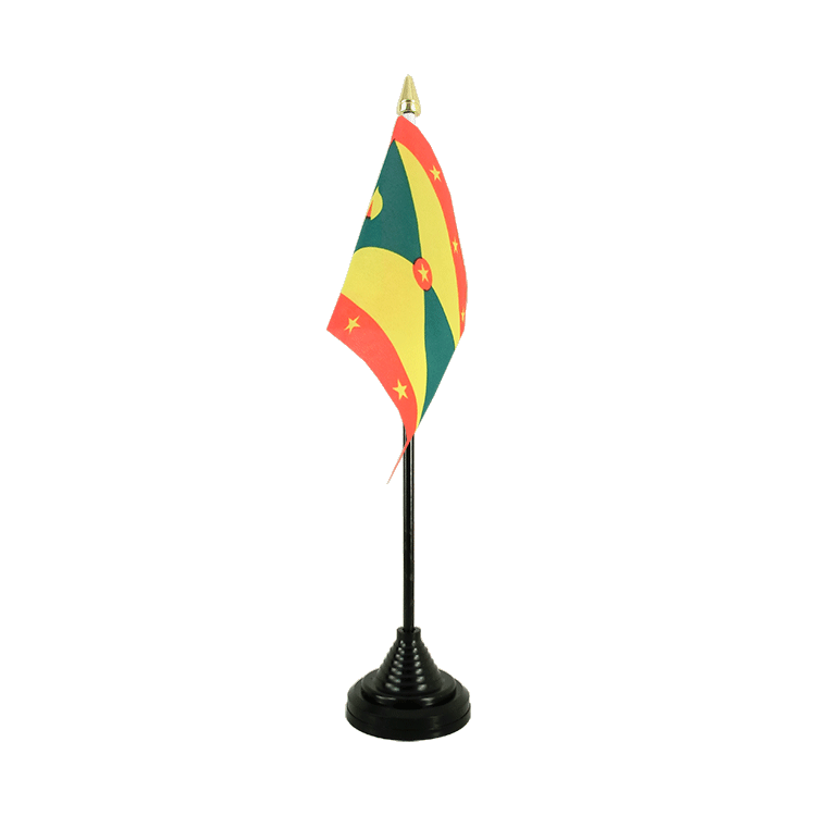 "Desk and Table Flag Grenada - 4x6"" (10 x 15 cm)"