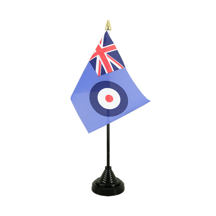 Mini drapeau Royal Air Force de table 10 x 15 cm