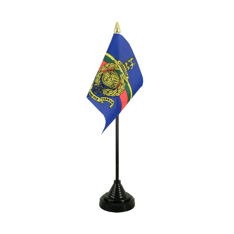 "Table Flag Royal Marines - 4x6"" (10 x 15 cm)"