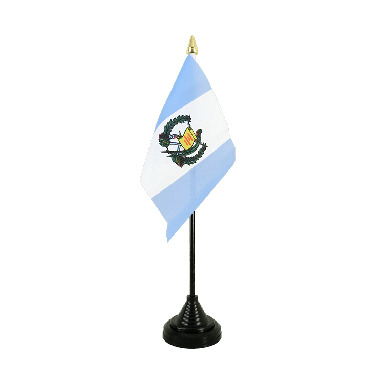 "Desk and Table Flag Guatemala - 4x6"" (10 x 15 cm)"