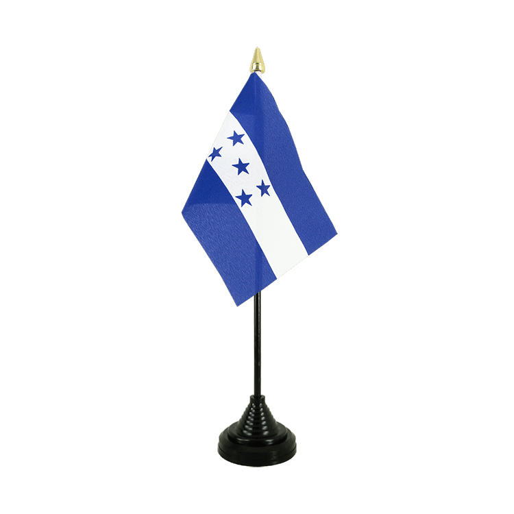 "Table Flag Honduras - 4x6"" (10 x 15 cm)"