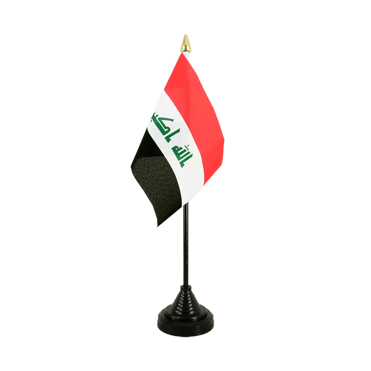 "Table Flag Iraq 2009 - 4x6"" (10 x 15 cm)"