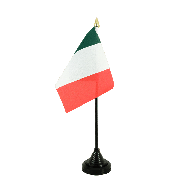 "Desk and Table Flag Italy - 4x6"" (10 x 15 cm)"