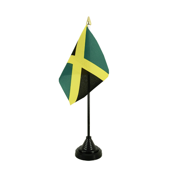 "Desk and Table Flag Jamaica - 4x6"" (10 x 15 cm)"