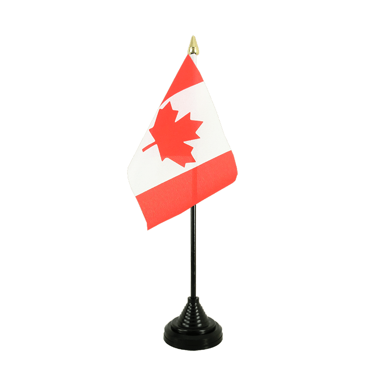 "Table Flag Canada - 4x6"" (10 x 15 cm)"