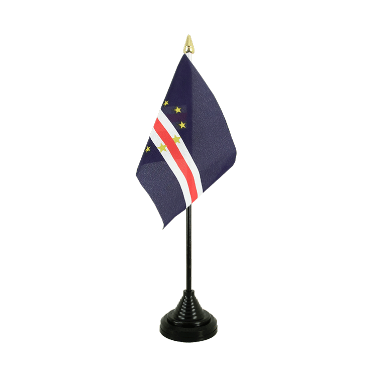 "Cape Verde Table Flag - 4x6"" (10 x 15 cm)"