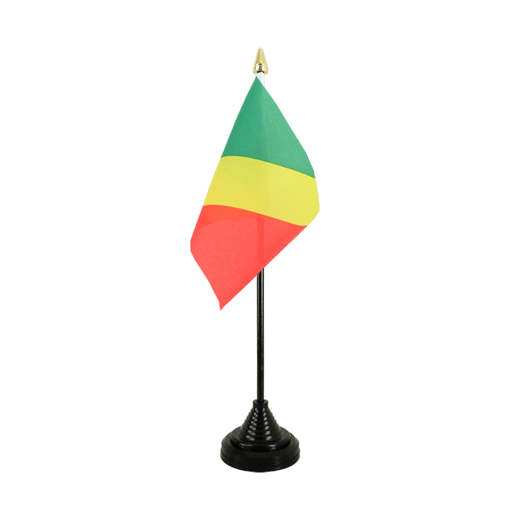 "Desk and Table Flag Congo - 4x6"" (10 x 15 cm)"