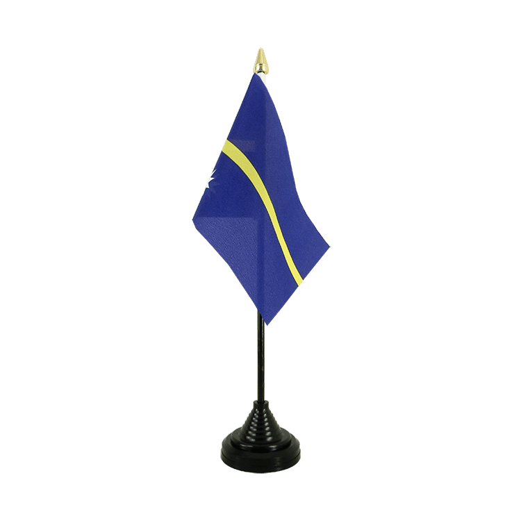 "Desk and Table Flag Nauru - 4x6"" (10 x 15 cm)"