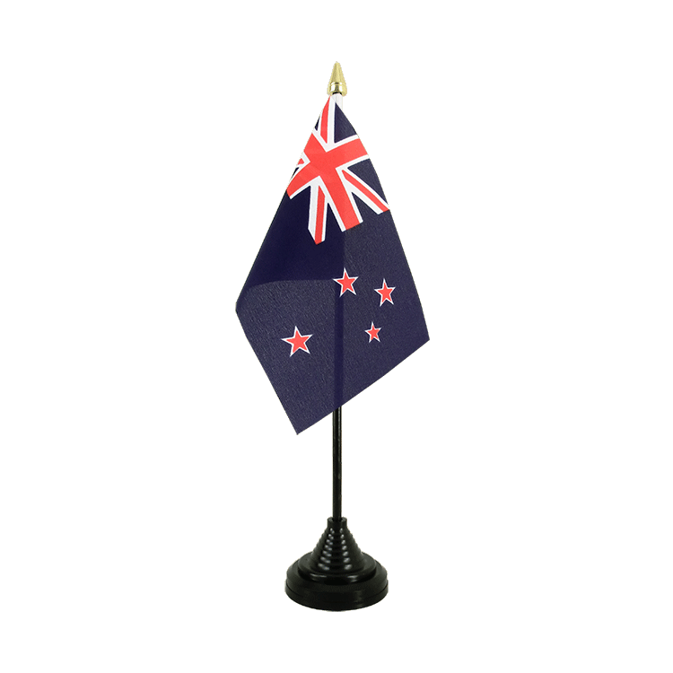 New Zealand Table Flag 4x6""