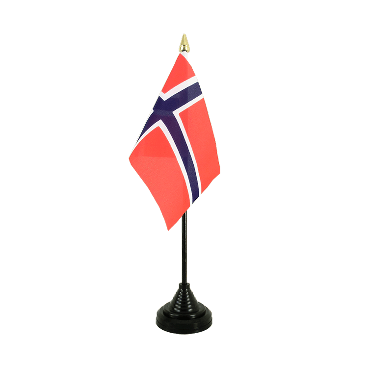 "Desk and Table Flag Norway - 4x6"" (10 x 15 cm)"