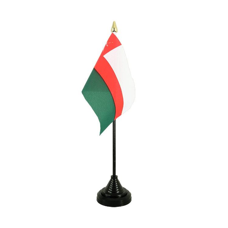 "Table Flag Oman - 4x6"" (10 x 15 cm)"