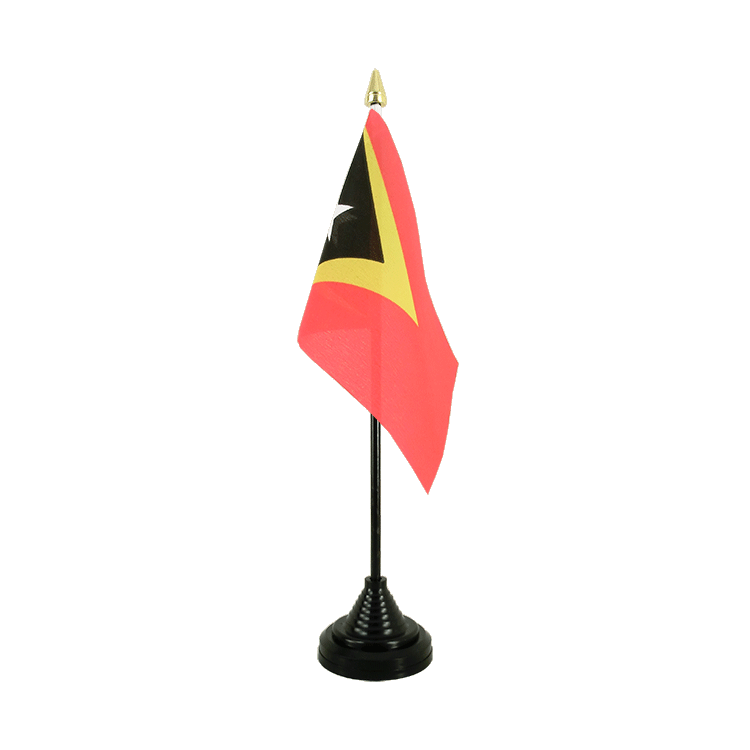 "Desk and Table Flag East Timor - 4x6"" (10 x 15 cm)"