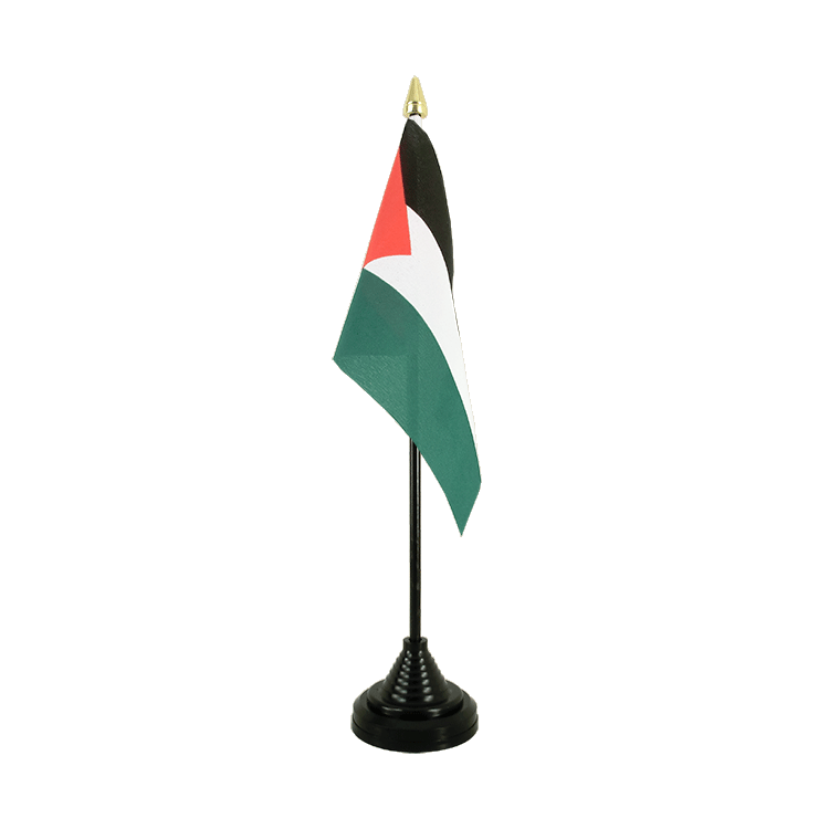 "Table Flag Palestine - 4x6"" (10 x 15 cm)"