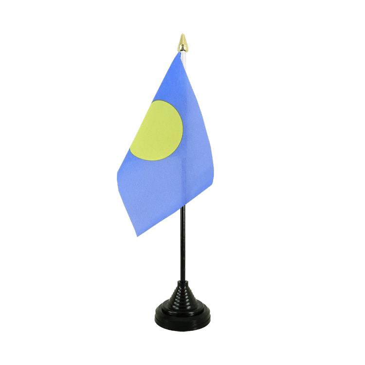 "Desk and Table Flag Palau - 4x6"" (10 x 15 cm)"