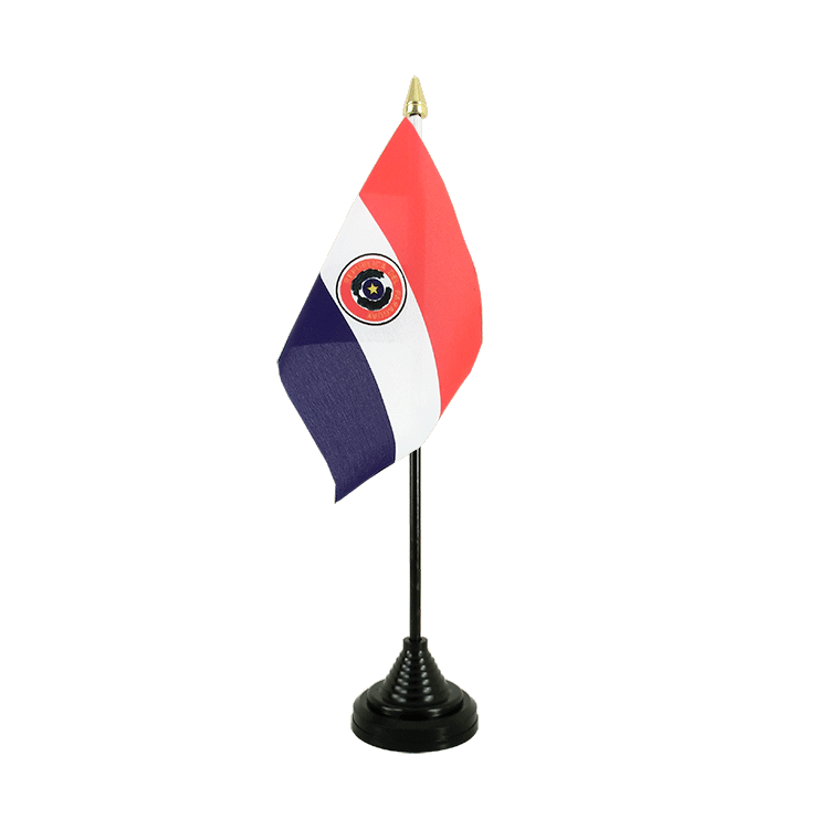 "Desk and Table Flag Paraguay - 4x6"" (10 x 15 cm)"