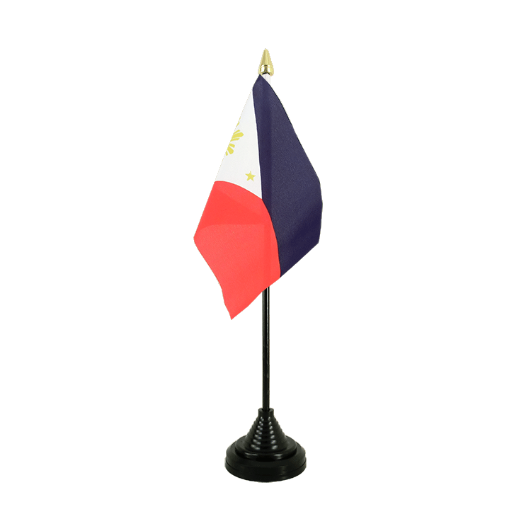 "Desk and Table Flag Philippines - 4x6"" (10 x 15 cm)"