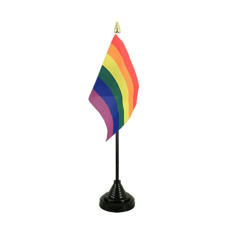 Rainbow Table Flag 4x6""