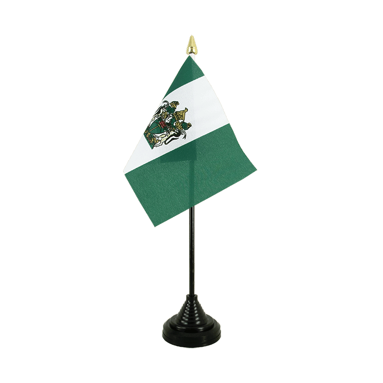 "Table Flag Rhodesia - 4x6"" (10 x 15 cm)"